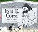 Profile photo:  Irene Kae Corsi