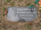 Jackson Richard Champagne