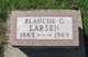 Profile photo:  Blanche C Larsen
