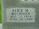 Alice Maxine <I>Brecheisen</I> Bosley