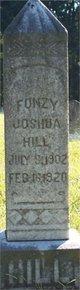 Fonzy Joshua Hill