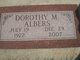 Dorothy M. <I>Russell</I> Albers