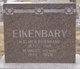 Profile photo:  Henry Elmer Eikenbary
