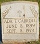 Profile photo:  Ada <I>Tramel</I> Carroll