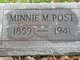 Minnie Munsey <I>Tarbell</I> Post