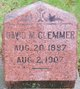 Profile photo:  David M. Clemmer