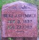 Profile photo:  Benjamin Joseph Clemmer