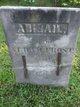 Profile photo:  Abigail <I>Hoage</I> Frost