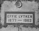 Effie <I>Summy</I> Lytken