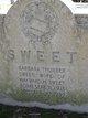 Profile photo:  Barbara Thurber <I>Bowen</I> Sweet