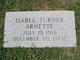 Isabel <I>Turner</I> Arnette