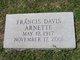 Francis Davis Arnette