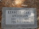 Profile photo:  Kenneth Carl Anderson