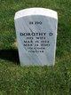 Profile photo:  Dorothy D. Buckle