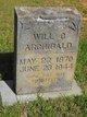 Will G Archibald