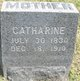 Catharine <I>Kline</I> Dixon