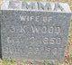 Emma L. <I>Dixon</I> Wood