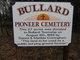 Bullard Pioneer Cemetery