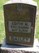 Profile photo:  Edith Marie <I>Hall</I> Bailey