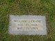 Profile photo:  William J Crane