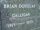 Profile photo:  Brian Douglas Galligan