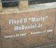 """Floyd D """"Marty"""" McDaniel, Jr"""