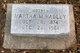 """Martha Mallissa """"Lizzie"""" <I>Ford</I> Hadley"""