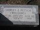 Shirley E <I>Williams</I> Petsch