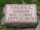 Profile photo:  Virginia E. Cigrand