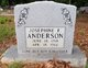 Josephine F. Anderson