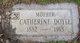 "Catherine ""Kate"" <I>McCallum</I> Doyle"
