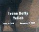 Irene Betty Yelich