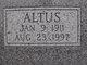Profile photo:  Altus Gibbs