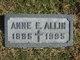 Profile photo:  Anne E. Allin