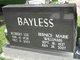 Profile photo:  Bernice Marie <I>Williams</I> Bayless