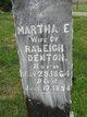 Martha E. Denton