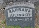 Profile photo:  Barbara Ailinger