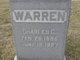 Profile photo:  Charles C Warren