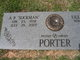 "Profile photo:  A P ""Sockman"" Porter"