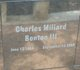 Charles Millard Benton, III