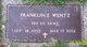 Franklin E Wentz