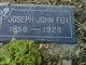 Joseph John Fox