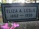 Eliza Ann <I>Hawthorne</I> Leslie