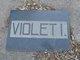 Violet I. Pirie