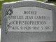 Phyllis Jean <I>Campbell</I> Christopherson