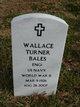"Profile photo:  Wallace ""W.T."" ""Dude"" Bales"