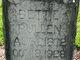 """Elizabeth """"Bettie"""" <I>Nash</I> Pullen"""