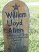 Profile photo:  William Lloyd Allen