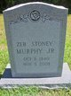 "Zeb ""Stoney"" Murphy Jr."