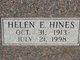 Helen E. <I>Hines</I> Baucum